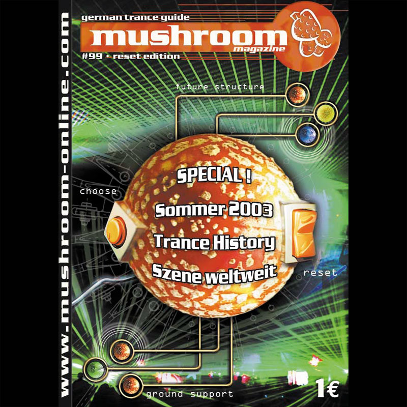 mushroom 2003-09 Cover